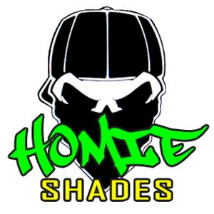 Homie Shades Sunglasses Shark Eyes