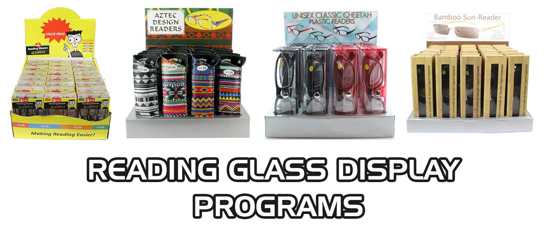 Wholesale Reading Glasses Display Programs Bulk Readers